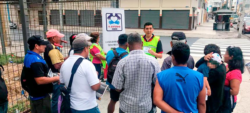 Grupo T- Ayudo brindando apoyo a las personas desempleadas