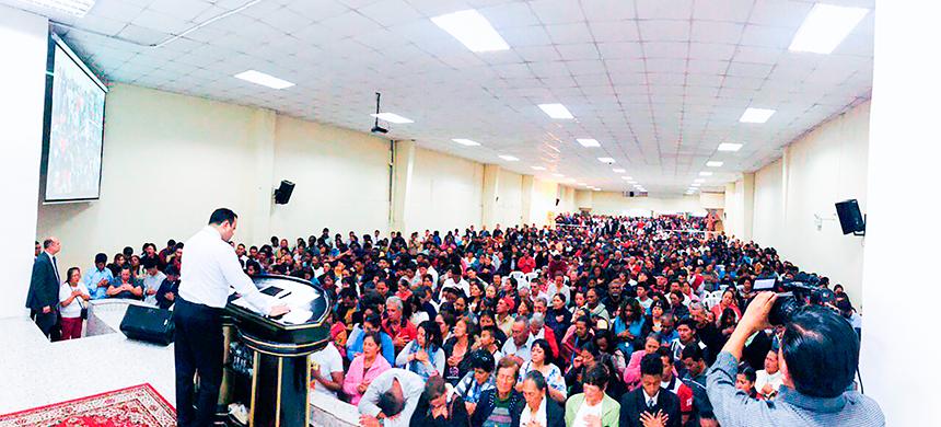 2.000 personas participaron de la CONCENTRACIÓN DE FE EN QUITO