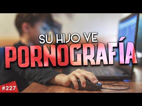 Su hijo ve pornografía