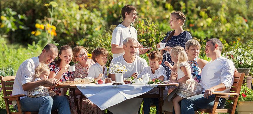 Comidas familiares: un regalo para los hijos