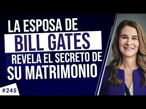 La esposa de Bill Gates revela el secreto de 25 años de matrimonio