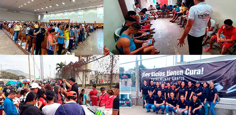 Proyecto cura de los vicios Ecuador