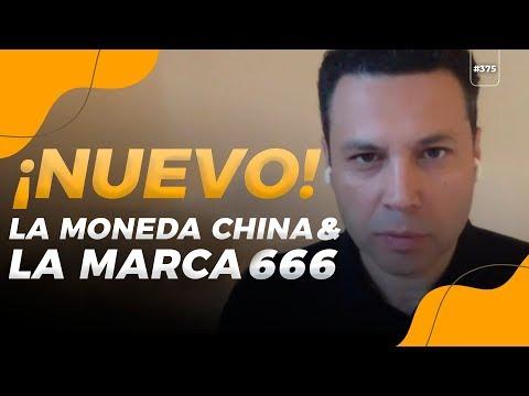 ¡Nuevo! La moneda china, el fin del dinero físico,la marca 666
