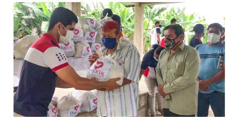 Unisocial llega a una Comuna Tsáchila en Santo Domingo